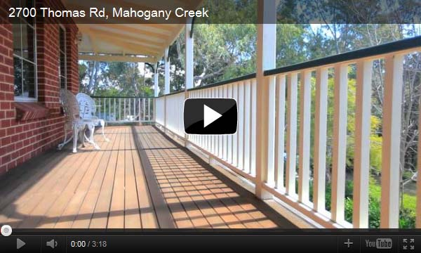 New Video Tour – 2700 Thomas Road Mahogany Creek